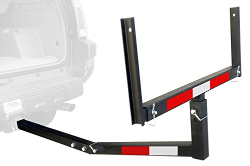 MaxxHaul 70231 Hitch Mount Truck Bed Extender (For Ladder, Rack, Canoe, Kayak, Long Pipes and...
