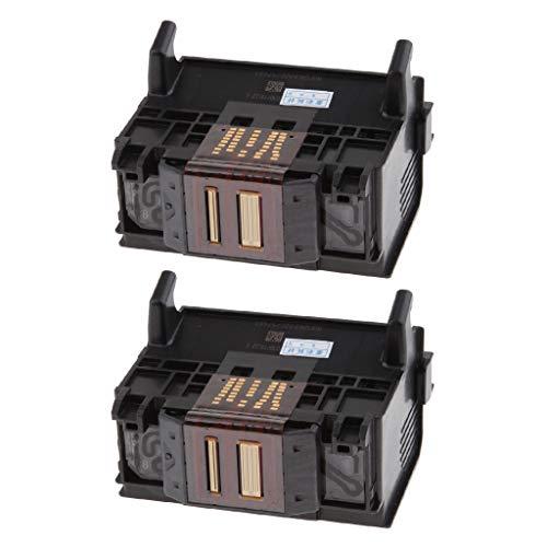 D7560,C309A,C410 Homyl 2Pack Print Head Repair Part for HP D5468 C6380 C5388 B8558 Printer
