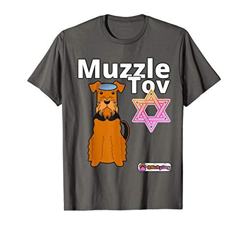 Jewish Humour Hanukkah Gift :: Muzzle / Mazel Tov :: Dog Pun