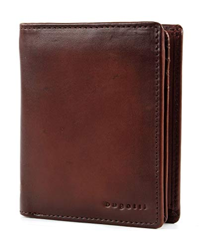 bugatti Domus RFID- Wallet With Flap High Cognac