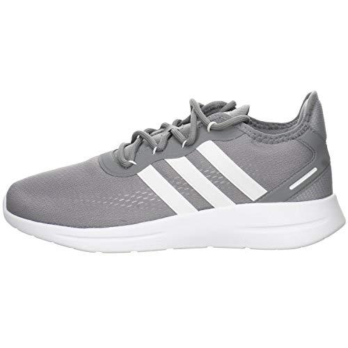 adidas Men's LITE Racer RBN 2.0 Running Shoe, FTWR White FTWR White Core Black, 10.5 UK