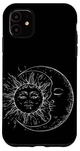 iPhone 11 Sun and Moon Astrology Spiritual Yoga Case