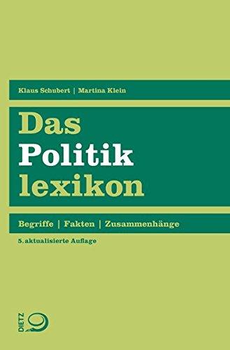 Das Politiklexikon: Begriffe. Fakten. Zusammenhänge