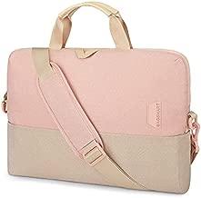 Laptop Bag for Women,BAGSMART 15.6 Inch Laptop Case Slim Computer Bag Briefcase,Pink