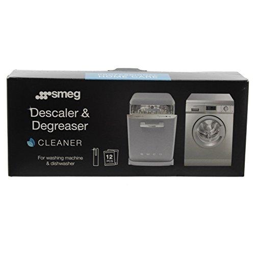 Smeg lavaggio macchina genuina Disincrostatore e sgrassante (12 x Bustine)