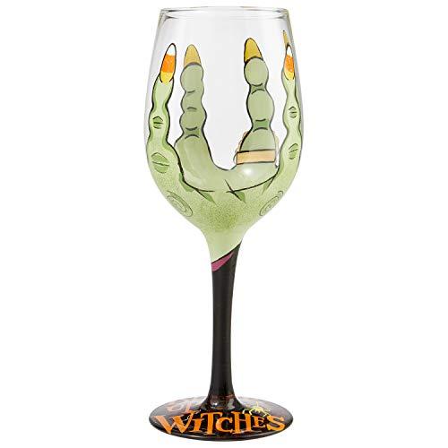 witch wine glass - 1
