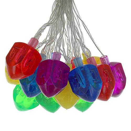 Cazenove Hanukkah Dreidel String Light Decoration for Chanukah Party
