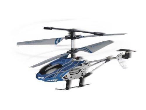 Revell Control RC Helikopter, ferngesteuerter Hubschrauber für Einsteiger, 2,4 GHz Fernsteuerung, einfach zu fliegen, Gyro, stabiles Chassis, LED-Beleuchtung, USB-Ladegerät – SKY FUN 23982 - 10