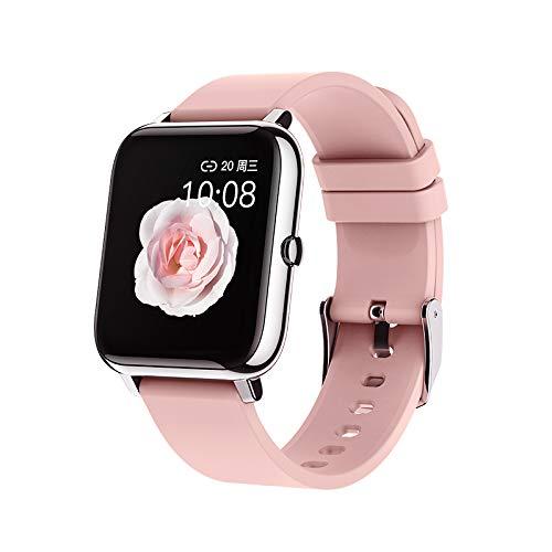 eLinkSmart Smartwatch para Mujer Hombre,Reloj Inteligente de Fitness con Contador de Pasos y Resistente al Agua, Monitor de Sueño, Smart Watch con Pantalla Táctil de 1,4 Pulgadas para Android iOS