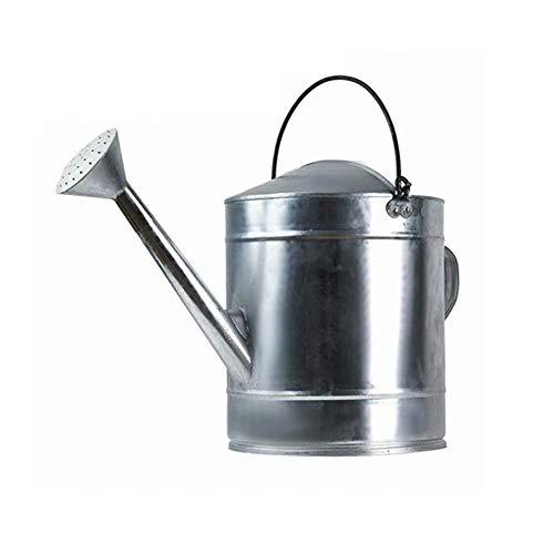 Arrosoir en métal 20L Arrosoir en tôle de fer galvanisé Arrosoir de grande capacité Irrigation de jardin Plante de jardin Seau d'arrosage de fleurs Outil d'arrosage de jardinage Convient pour l'intéri