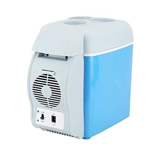 Draagbare autokoelkast, 7,5L mini multifunctionele autokoelkast Draagbare koelkast voor in de auto