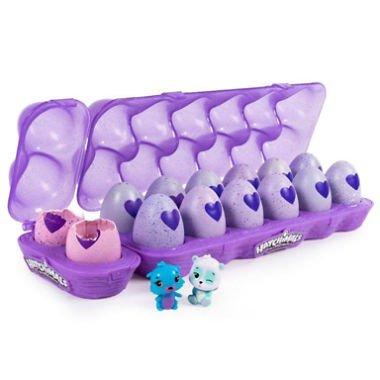 Hatchimals CollEGGtibles 12-Pack Egg Carton Plus 2 Bonus