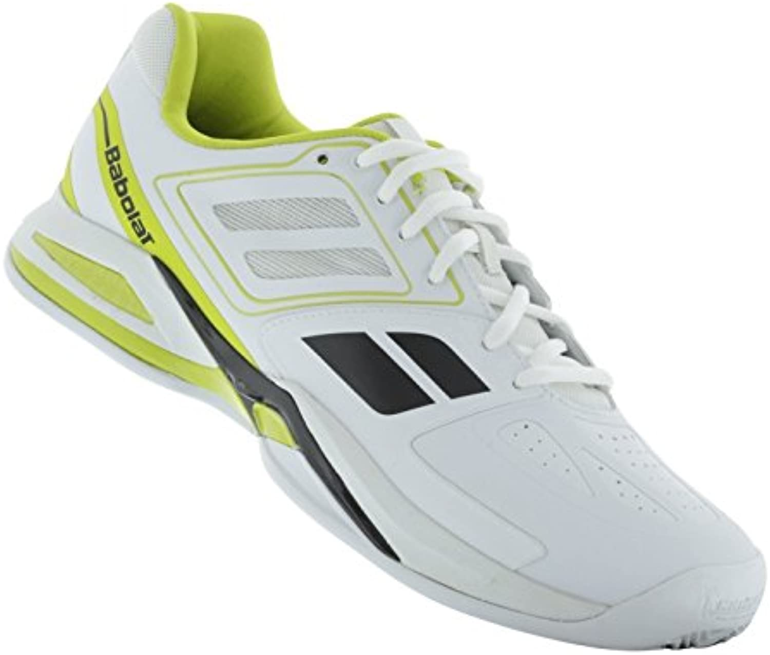 Babolat ProPulse squadra BPM Clay Men bianca light verde nero, Dimensione 46