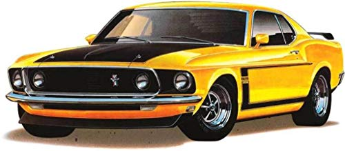 Revell Plastic Model Kit-69' Boss 302 Mustang 1:25