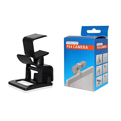 OSTENT TV Clip Mount Stand Holder Compatible for Sony PS4 Eye Camera Sensor