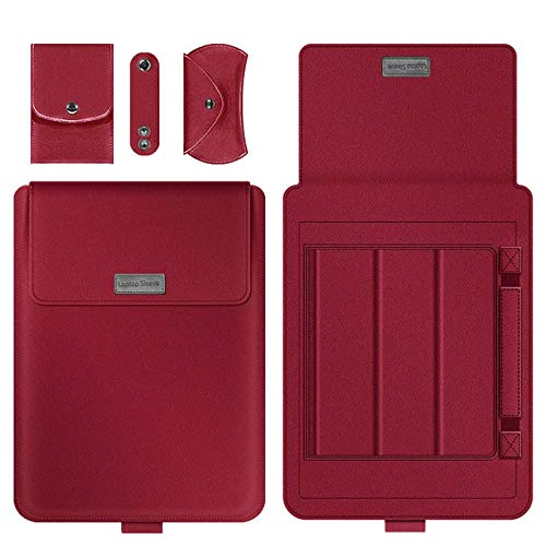 SFBBBO Laptop Stand Laptop Notebook Case Tablet Sleeve Cover Bag 11' 12' 13' 14' 15' for Pro Air Retina 14 Inch 12inch Red
