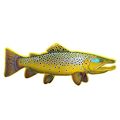 The Fly Crate Fly Fishing Decal Sticker by The Fly Crate