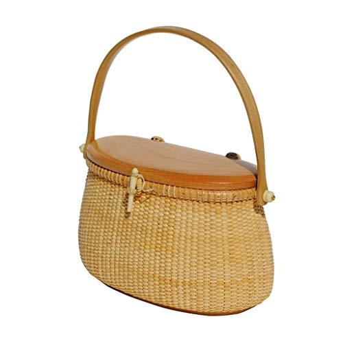 Why Should You Buy Picnic Baskets Fruit basket Picnic Basket Outdoor Picnic Fruit Basket Rattan Bask...