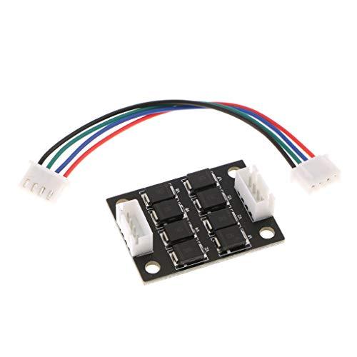 perfk Module D'addition Filtre Tl-Smoother Kit Additionnelle Module pour 3D Imprimante Moteur Droit