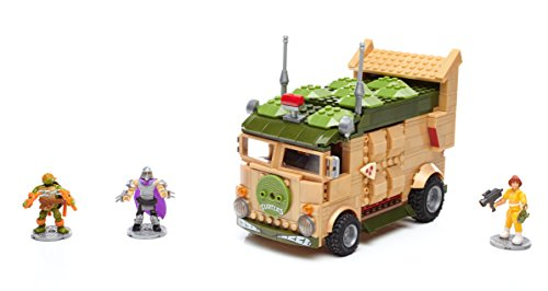 Mega Bloks Teenage Mutant Ninja Turtles Classic Series Party Wagon Construction Set