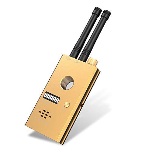 YEHEI Detector De Errores Detector De Señal Inalámbrico RF Anti-Spy Buscador De Lente Estenopeica De Cámara Oculta Buscador De Dispositivos gsm GPS Tracker Escáner De Alarma Portátil