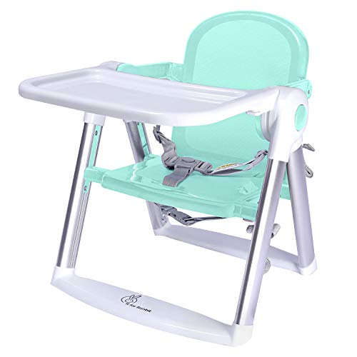 R for Rabbit Jelly Bean Booster Chair | Feeding Chair | Booster Chair | Portable Booster Chair | Booster Chair for Baby | Kids Booster Seat (Green)