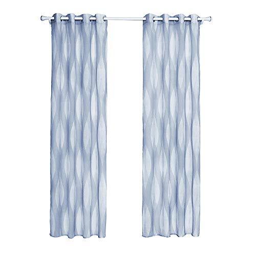 MRCOCO® Semi Blackout Vorhänge, Wohnzimmer Vorhang, Ösenschal Vorhang Blickdicht Aber Lichtdurchlässig,...
