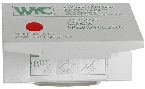 WYC Aguja Depilación Cónica, n. 0.5-50 unidades