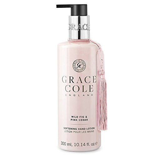 300ml Hand Lotion by Grace Cole - Wild Fig & Pink Cedar