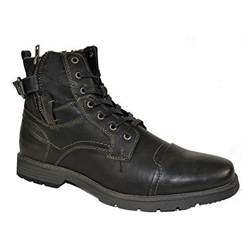 Petrolio Herren Stiefel Schnürboots Schuh Boots Schnürstiefel : 45 Schuhgröße 45