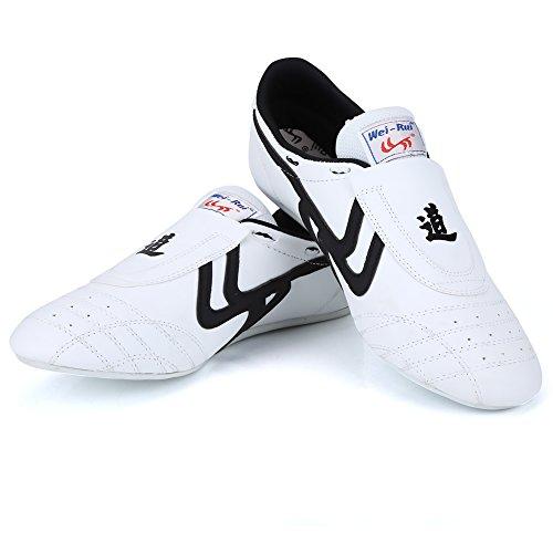 Alomejor Taekwondo Shoes Taekwondo Boxing Karate Training Shoes Taichi Kong Fu Shoes for Kung Fu Taichi Taekwondo Boxing Karate (38)