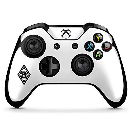 DeinDesign Skin kompatibel mit Microsoft Xbox One X Controller Folie Sticker Borussia Mönchengladbach Gladbach Logo