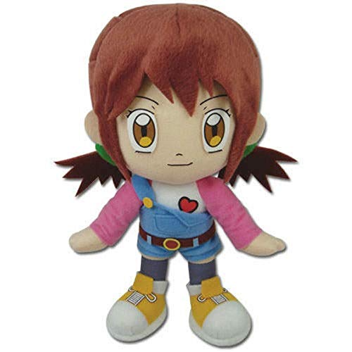 "GE Animation Great Eastern Digimon Digital Monsters Angie Hinomoto Stuffed Plush, 9"""