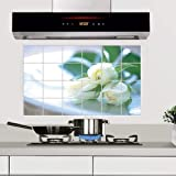 ahjs456 Überdimensionierte 60 * 90 Anti-öl-Aufkleber Küchenhaube Anti-fouling Wasserdichten Aufkleber Blume Kann Entfernt Werden