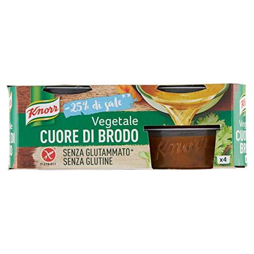 Knorr Cuore di Brodo Vegetale Basso Sale, 112g