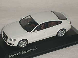 AUDI A5 A 5 SPORTBACK SPORT BACK WEISS 1/43 SCHUCO MODELLAUTO MODELL AUTO