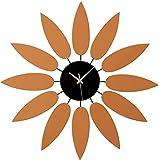 DSADDSD' Etiqueta engomada del Reloj del Reloj del Reloj en la Pared del Espejo de Madera Decoración Moderna de la Sala de...