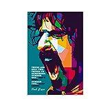 CHAOZHE Frank Zappa Poster, Legende Rockmusiker, Sängerin,