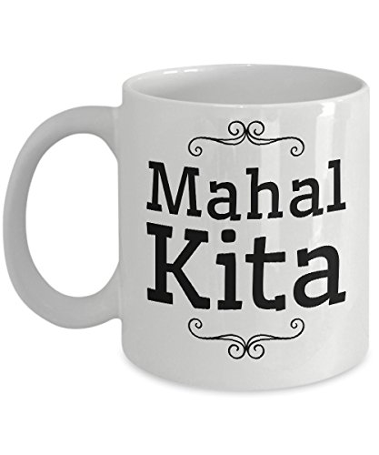 Mahal Kita - Filipino Coffee Mug - Quality Coffee Mug Gift for Filipino Men and Women