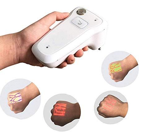 HYCy Visionneuse Infrarouge de Trouveur de veine, détecteur médical portatif de repère de veine de transilluminateur, lumières de visualisation d'illumination pour des infirmières, imagerie de veines