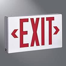 Sure-Lites LPX7 Emergency Exit LED Exit Sign, Battery Backup