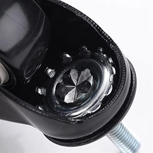 ZLSY 4 Pezzi di mobili rotelle Pesanti da 1,5 Pollici 40mm 360 rotelle girevoli girevoli rotabili per Ruote di Ricambio per mobili
