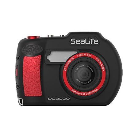 Sealife Sl740 Dc2000 Unterwasserkamera Schwarz Rot Kamera