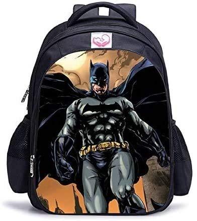 Best- Best School Gifts 16 inches Superhero Batman Orthopedic Children's School Bags Backpack Superhero Cartoon Kids School Bag Boys and Girls Camp, School, Office, Travel Best- Best (Color : 15)