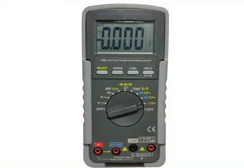GOWE AC True RMS Digital Multimeter 3-3/4 digits 4000 count; 0.3% best accuracy