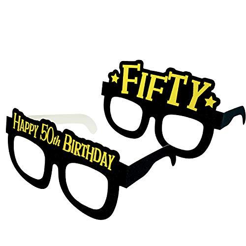 Occhiali da festa per i 50 anni birthday - set di 24