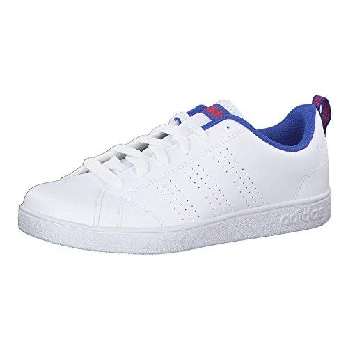 Adidas VS Advantage CL K, Zapatillas de Deporte Unisex Adulto, Blanco (Ftwbla/Ftwbla/Azalre 000), 38 2/3 EU