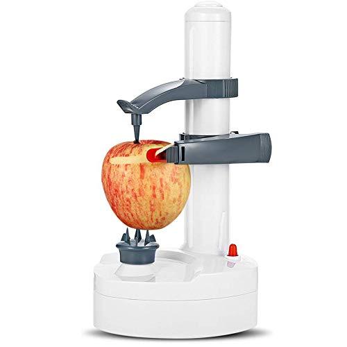 Dongbin Frutas eléctrica Cortador de Peeler, rotación automática Verduras Fritas Manzana Naranja...