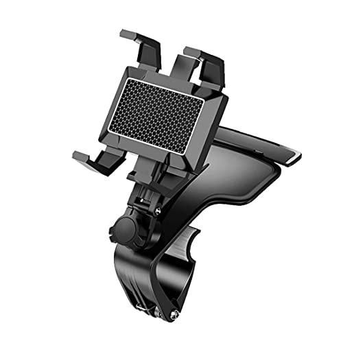 Car Phone Holder, car Dashboard Mount, Phone Holder, car Holder, GPS Phone Holder, Tablet Holder, Suitable for All Smartphones Black