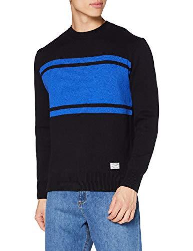 Pepe Jeans CRISTOF Suéter, Azul (597), XX-Large para Hombre